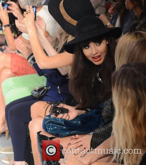 Jameela Jamil and London Fashion Week 2