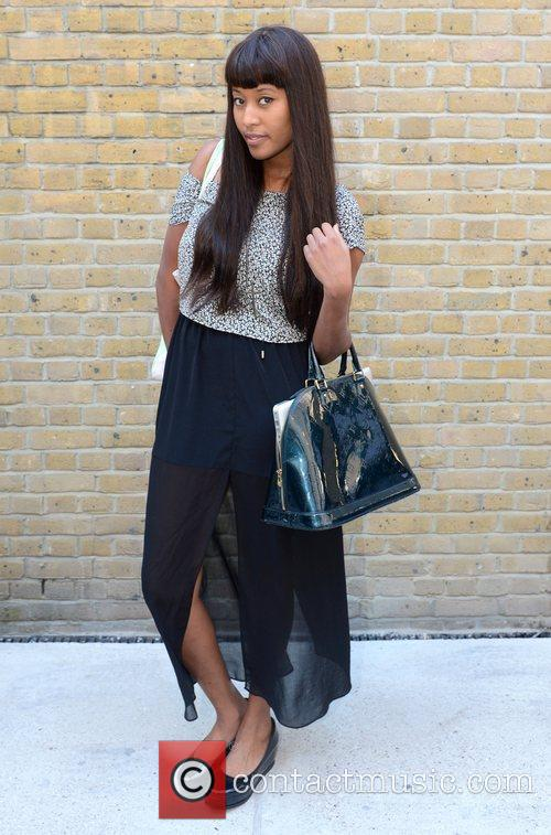 V V Brown and London Fashion Week 3