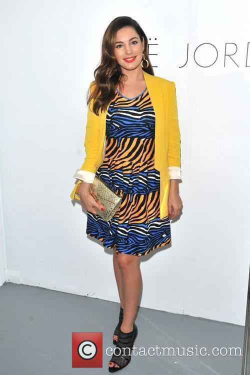 Kelly Brook and London Fashion Week 4