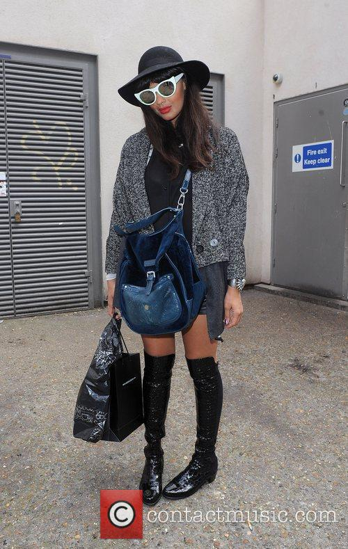 Jamelia and London Fashion Week 3
