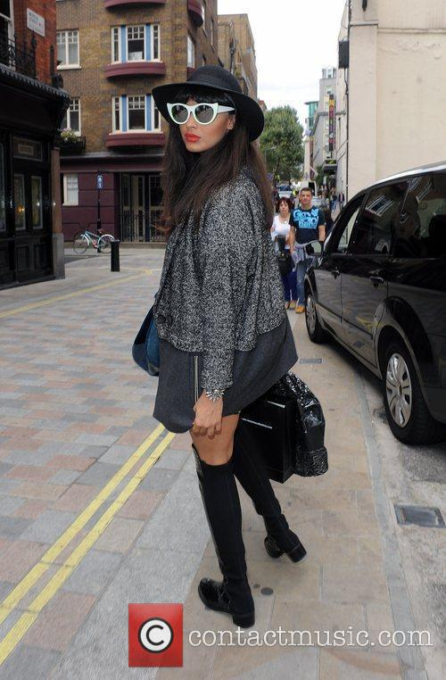Jamelia and London Fashion Week 7