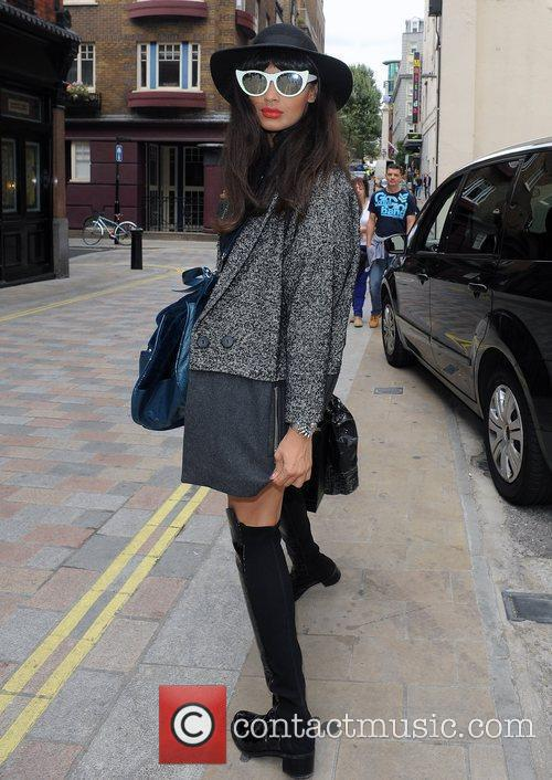 Jamelia and London Fashion Week 8