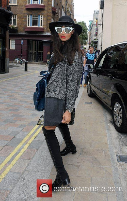 Jamelia and London Fashion Week 9