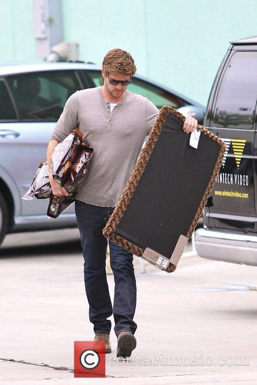 liam hemsworth picks up some supplies at 5834650