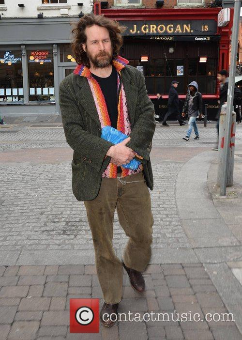 Former Hothouse Flowers frontman Liam O'Maonlai spotted walking...