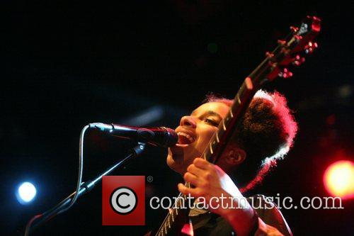 Performing live at Melkweg