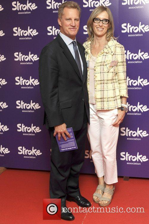 Michael Lynagh,Wife Stroke Association's Annual Life After Stroke...