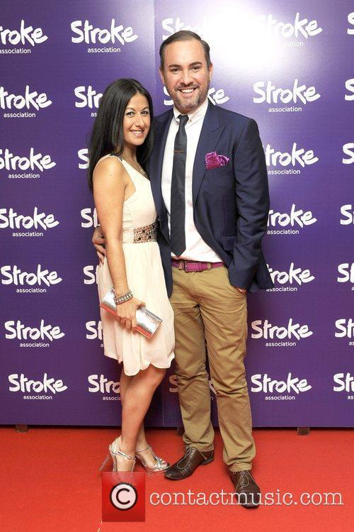 Nick Ede, Haley Tammadan Stroke Association's Annual Life...