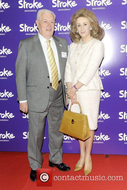 Sir Charles George, Lady Wolf Stroke Association's Annual...
