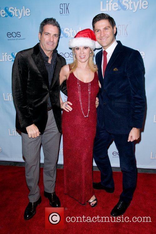 Dan Wakeford, Ramona Singer and Mario Singer...