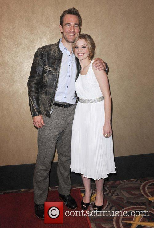 James Van Der Beek and Dreama Walker 2