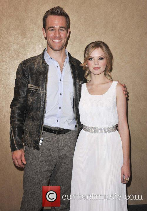 James Van Der Beek and Dreama Walker 1