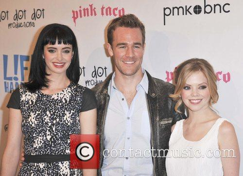James Van Der Beek and Dreama Walker 3