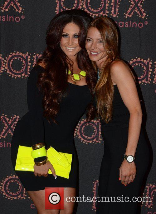 Tracy DiMarco and Drita D'Avanzo Lights, Camera, ACTION…Reality...