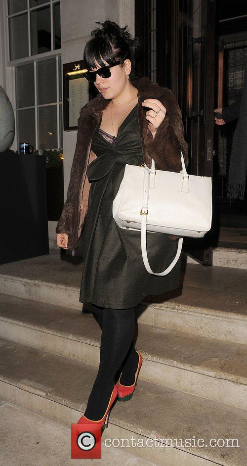 lily rose cooper aka lily allen leaving 3803926