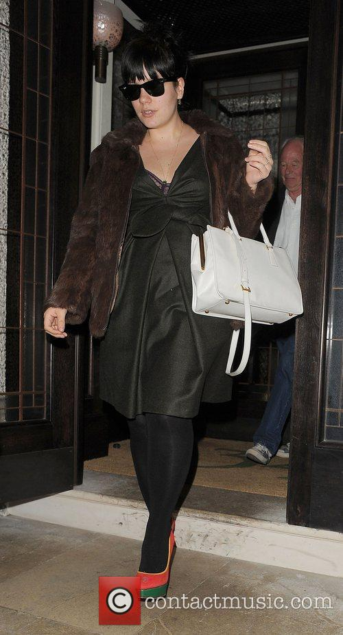 lily rose cooper aka lily allen leaving 3803951