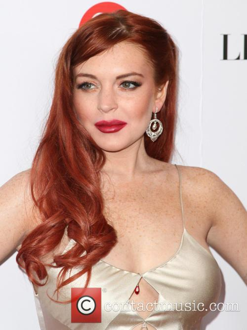 Lindsay Lohan, Liz, Dick and Beverly Hills Hotel 4
