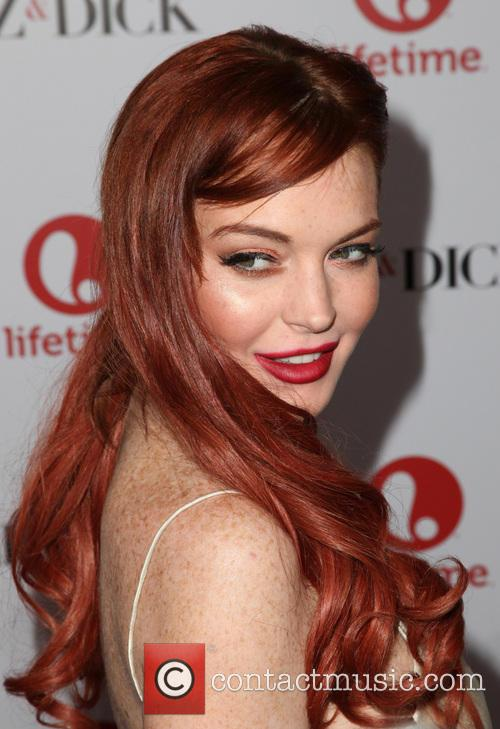 Lindsay Lohan, Liz And Dick Premiere
