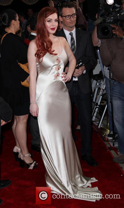 Lindsay Lohan, Liz & Dick Premiere