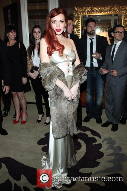 Lindsay Lohan, Liz, Dick and Beverly Hills Hotel 23