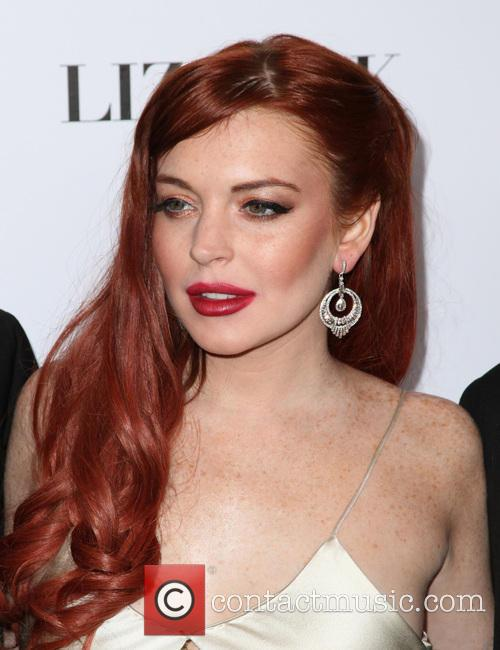 Lindsay Lohan, Liz, Dick and Beverly Hills Hotel 5
