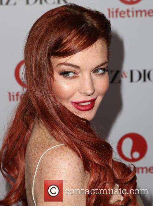 Lindsay Lohan, Liz, Dick and Beverly Hills Hotel 1