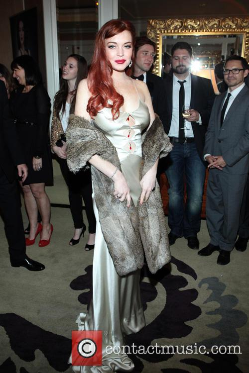 Lindsay Lohan, Liz, Dick and Beverly Hills Hotel 21