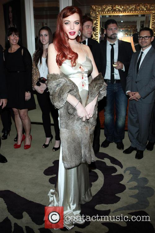 Lindsay Lohan, Liz, Dick and Beverly Hills Hotel 32
