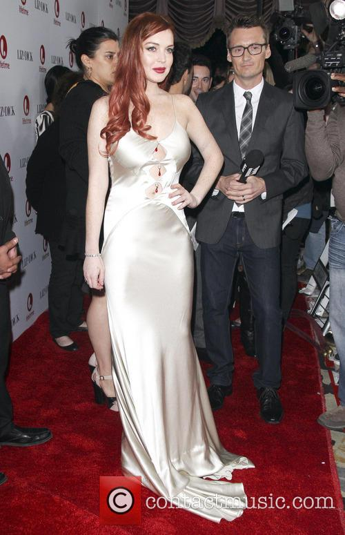 Lindsay Lohan, Liz, Dick and Beverly Hills Hotel 11