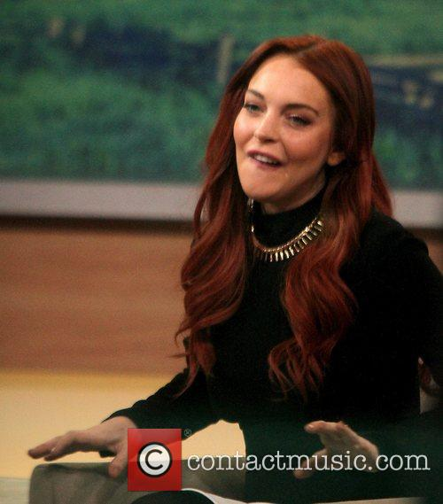 Lindsay Lohan and Good Morning America 7