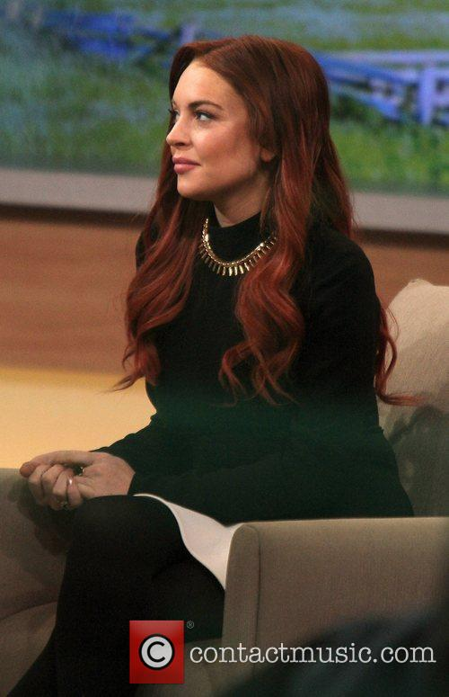 Lindsay Lohan and Good Morning America 8