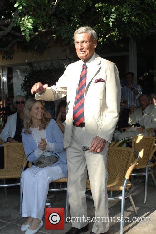 Lindsay Wagner Palm Springs Walk of Stars ceremony...