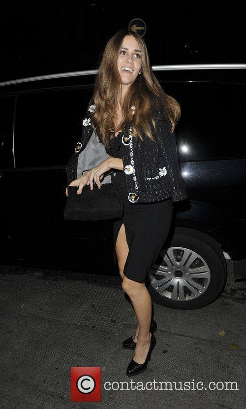 Jade Williams aka Sunday Girl Arriving at Lingerie...