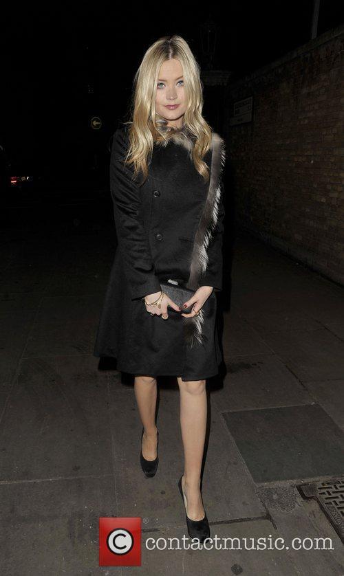 Arriving at Lingerie London held at Old Billingsgate,...