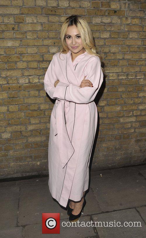 Zara Martin Arriving at Lingerie London held at...