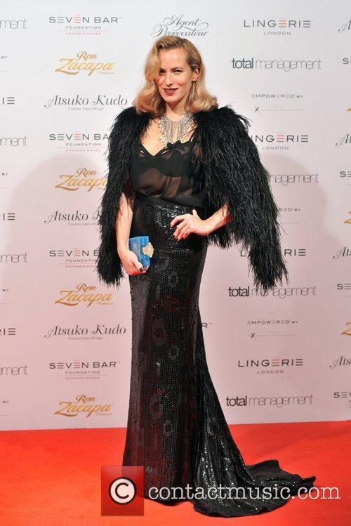Charlotte Dellal Lingerie London held at Old Billingsgate....