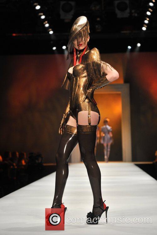 Atsuko Kudo - Catwalk Show Lingerie London held...