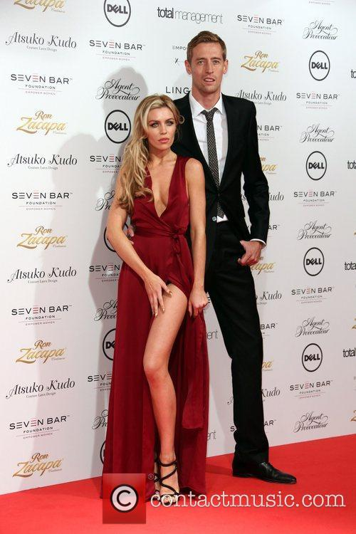 Abbey Clancy aka Abigail Clancy and Peter Crouch...