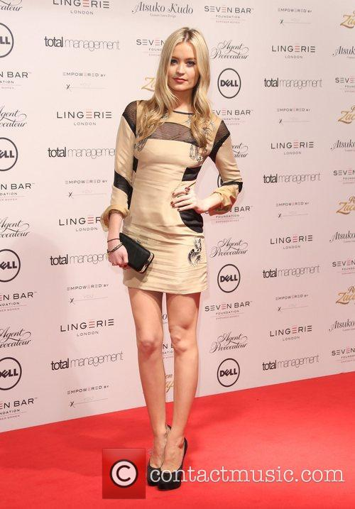Laura Whitmore Lingerie London, Agent Provocateur and Atsuko...