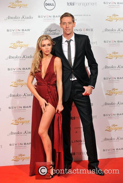 Abbey Clancy, Peter Crouch and Old Billingsgate