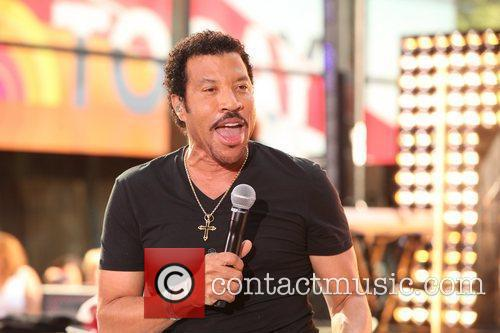 Lionel Richie and Rockefeller Plaza 11