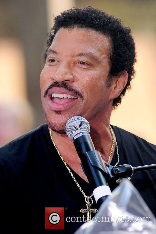 Lionel Richie and Rockefeller Plaza 24