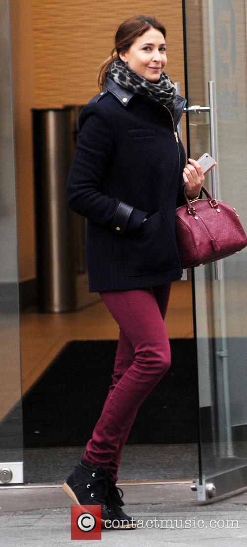 Lisa Snowdon leaving the Capital FM studios