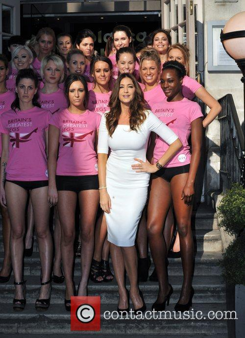 Veet Easywax 'Britain's Greatest Legs' March - Photocall