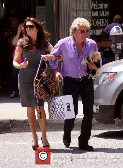 Seen out and about with husband Kenneth Todd