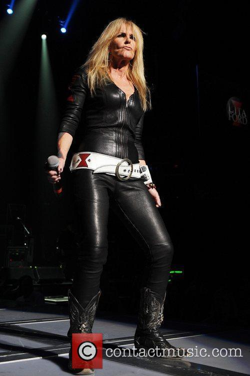 Lita Ford performs during the Rock of Ages...