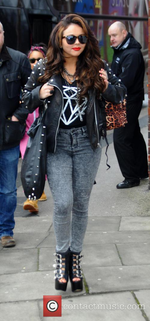 Jesy Nelson Little Mix arrive at Blackpool Winter...
