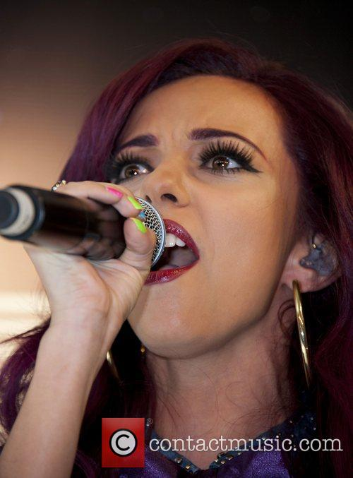 Jade Thirlwall Little Mix perform live and pose...