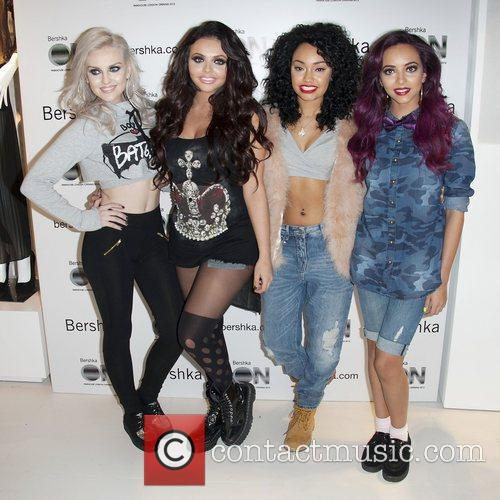 Perrie Edwards, Jesy Nelson, Leigh-anne, Pinnock and Jade Thirlwall 1