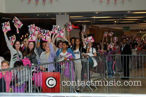 Little Mix sign copies of their autobiography 'Our...